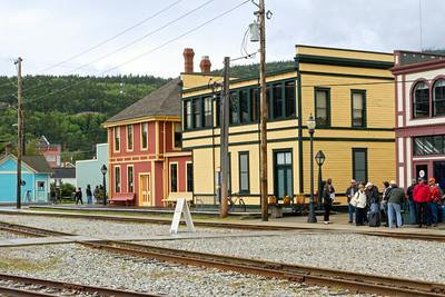 Railway yard in Skagway