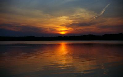 Taken at White Potato Lake in Northern Wisconsin on film