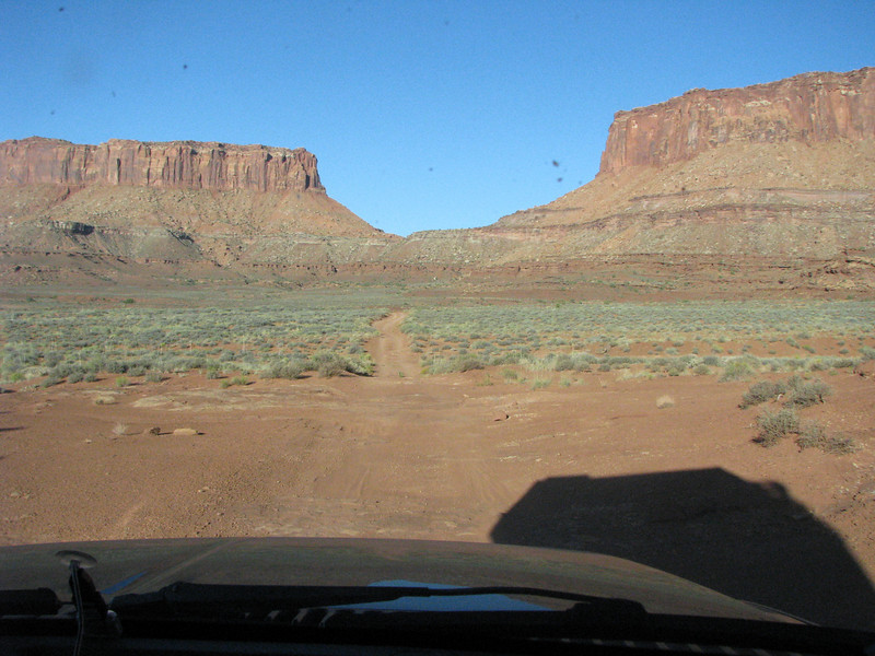 We're not too many miles from White Crack campsite, we'll be making a stop there to have a look.