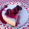 Cheesecake!<br /> Camping doesn't have to mean depriving yourself of the finer things.