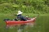 Fishin' in the Rain on the White River