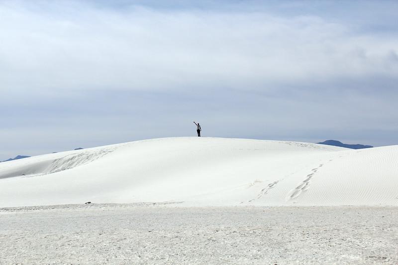 The dunes were high