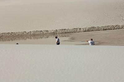 White SandsOct 4 2005 - NE Caravan Day 4