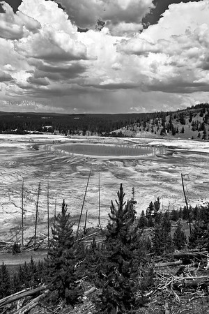 Grand Prismatic Spring in Yellowstone, Wyoming