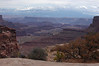 View down Shafer trail