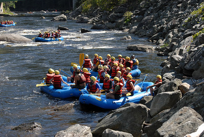Whitewater Rafting, Deerfield River