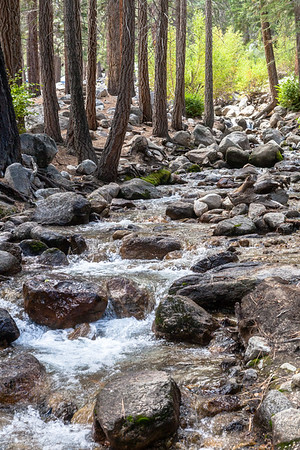 As you walk the trail between Whitney Portal and campground you are blessed with this beautifully peaceful creek