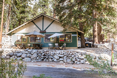 Everyone that exits the Whitney Portal Trailhead heads over to the Portal Store for some great food (They have great hamburger's)