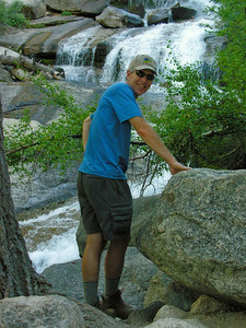 Dave at Waterfall