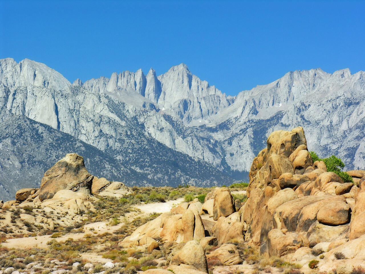 Alabama Hills & Sierra Nevada