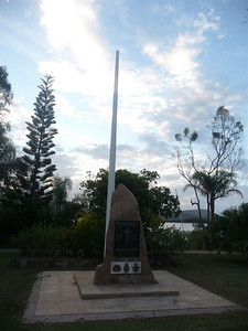 War Memorial in Cannonvale. This commemorates 11 wars from the Boer War (1899 -) to Afghanistan and Solomon Islands (2003-).