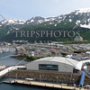 The marina and the Port in Whittier, Alaska.
