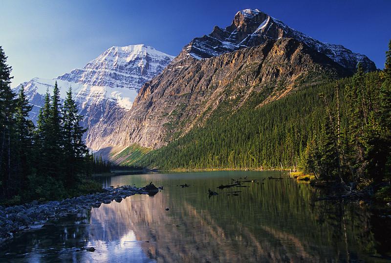 Mount Edith Cavell and Sorrow Peak