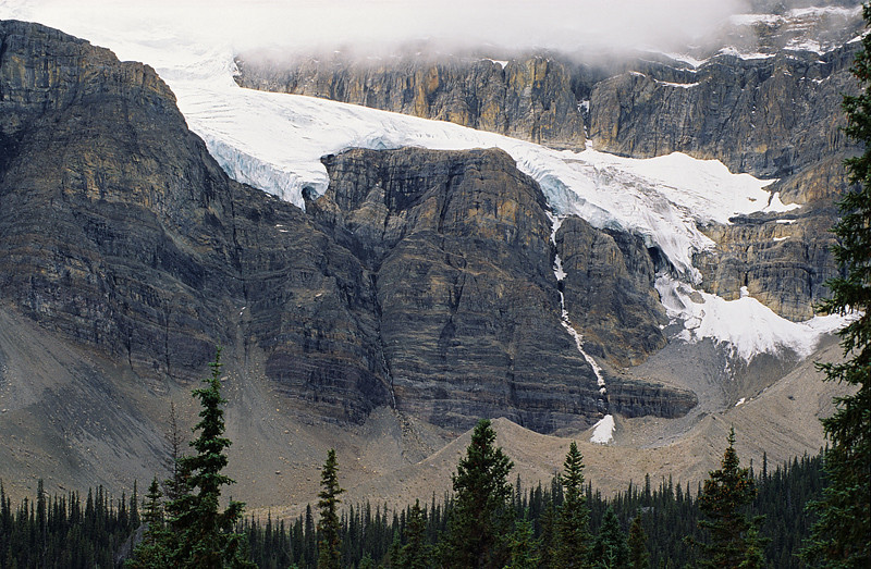 Icefields Parkway Glacier