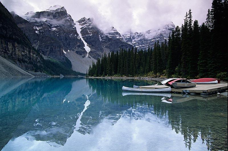 Gray Clouds, Gray Canoe