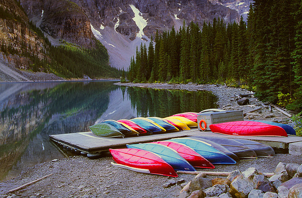 Two Dozen Canoes