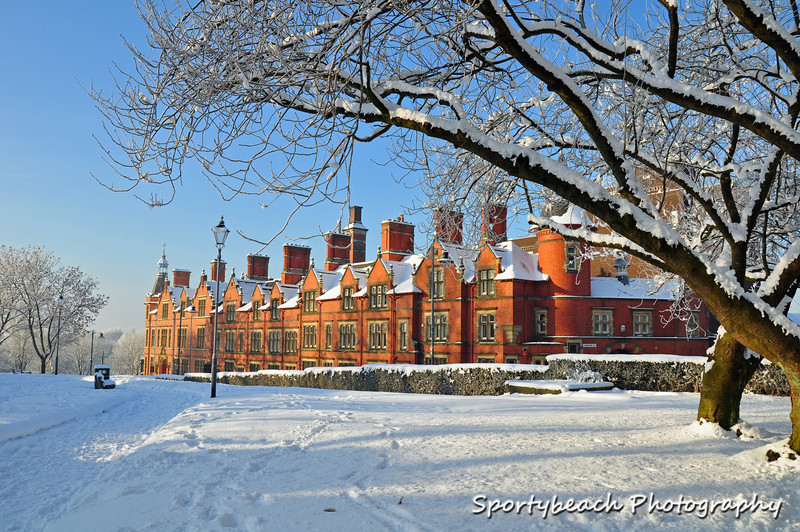Wigan in the snow