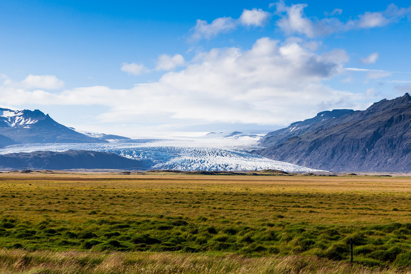Flatland, South Iceland