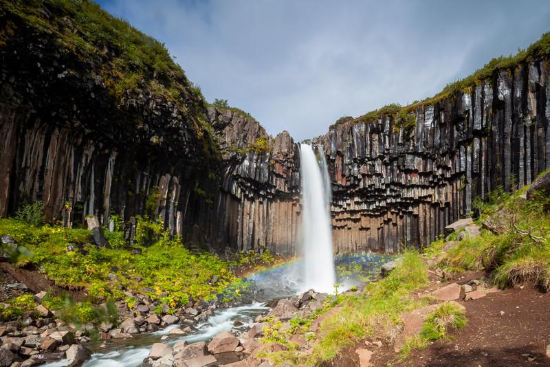 Svartifoss waterfall