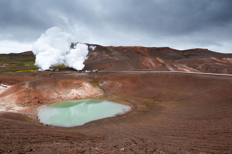 Geothermal plant