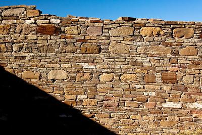Kiva wall  Casa Rinconada