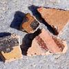 Pottery shards at Coronado State Monument