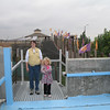 Terra and Nat atop one of the observation platforms...