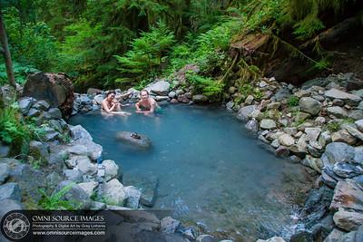 Family photo at Terwilliger / Cougar Hot Springs Oregon