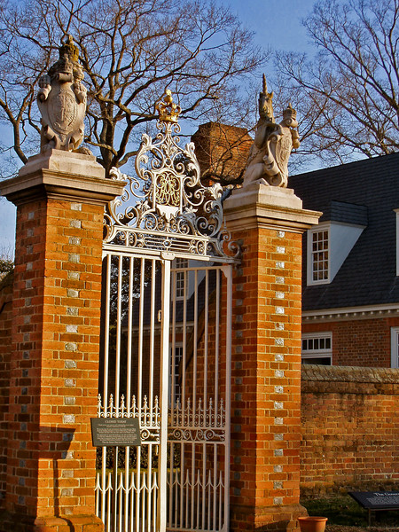 Entry way to the Governor's Palace