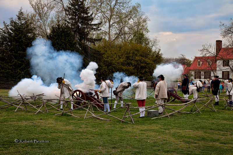 Firing of the Cannons