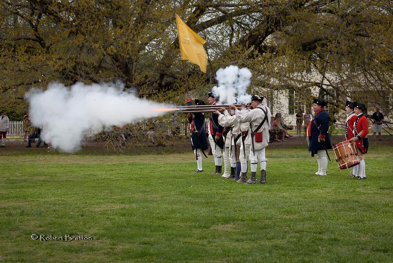 Firing of the Rifles