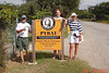An afternoon hike to the famous Pyrat rum factory