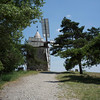 A windmill on a hill in Provence June 2015