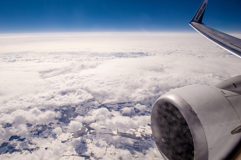 Over Canadian Earthscape