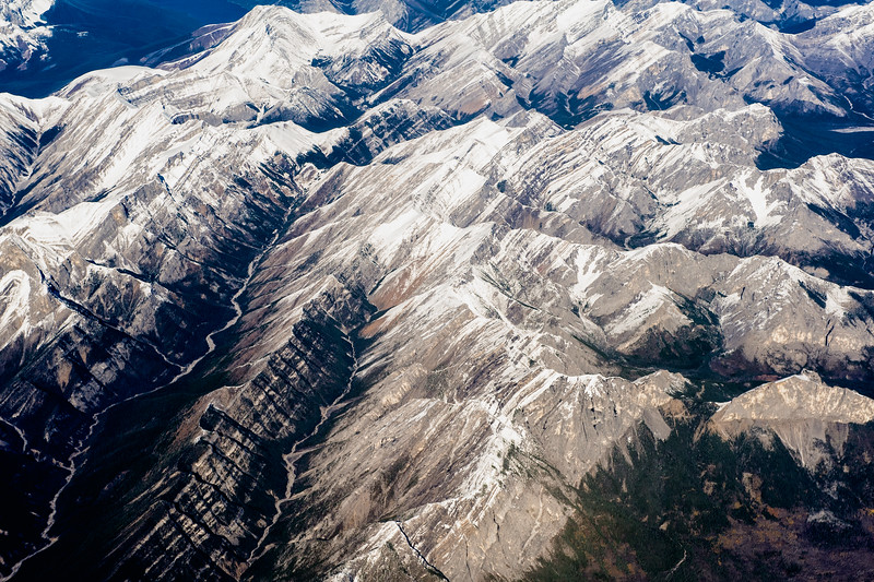 Over the Rocky Mountains