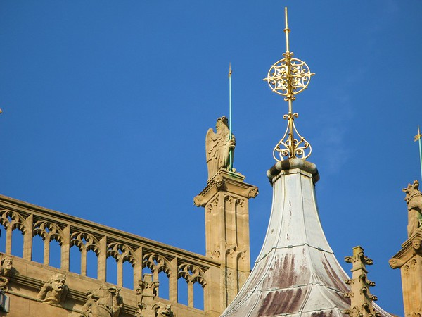 Roof on St. Georges Chapel