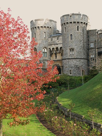Autumn at Windsor Castle