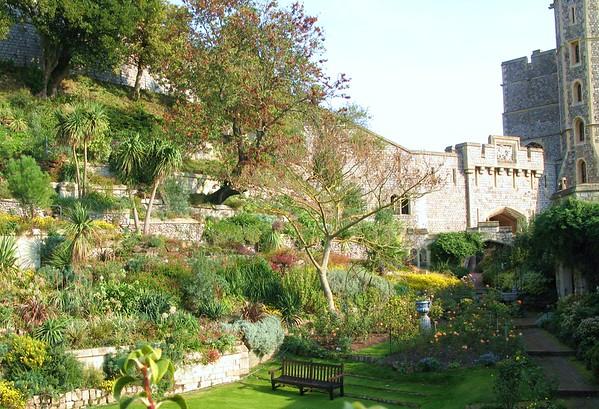 Windsor Castle Moat (now a Sunken Garden)
