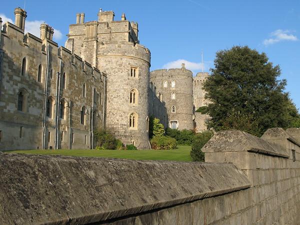 Windsor Castle Outside Walls