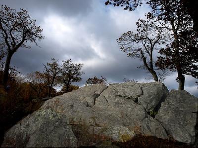 Big rock bigger cloud.