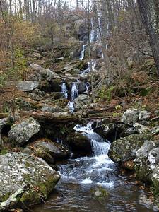 Dark Hollow Falls, Shenandoah National Park.