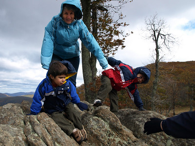 And seemed to almost blow the twins off their rock.