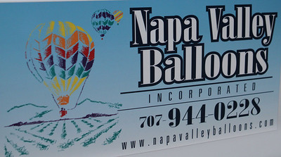 Joined up with the wonderful and experienced folks at Napa Valley Balloons.