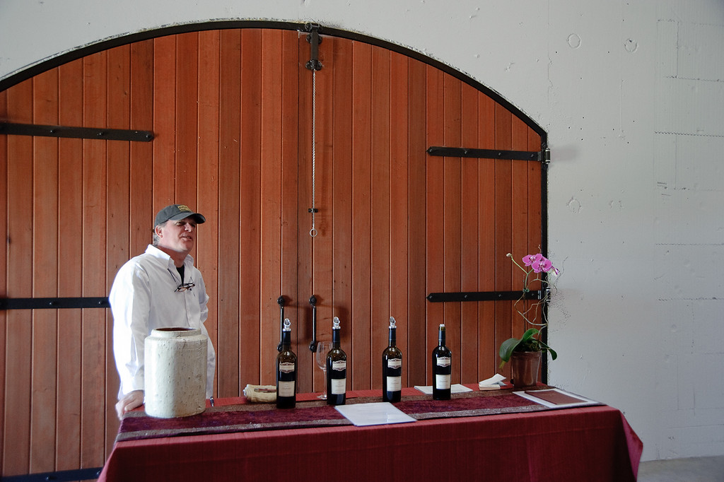 Michael Adair, Tasting Room Manager and host extraordinaire