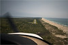 "Approach to Ocracoke Airport - see video of landing on YouTube -   <a href=""http://www.youtube.com/watch?v=p2r7l487i9A"">http://www.youtube.com/watch?v=p2r7l487i9A</a>"