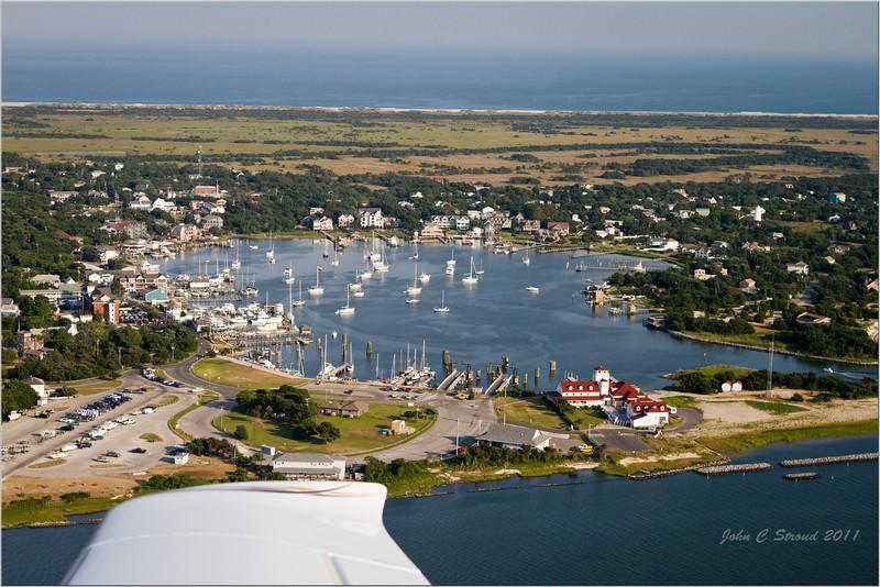 Silver Lake Harbor at Ocracoke Village