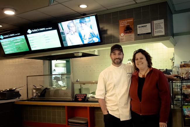 Chef Ben Kramer and Kristina