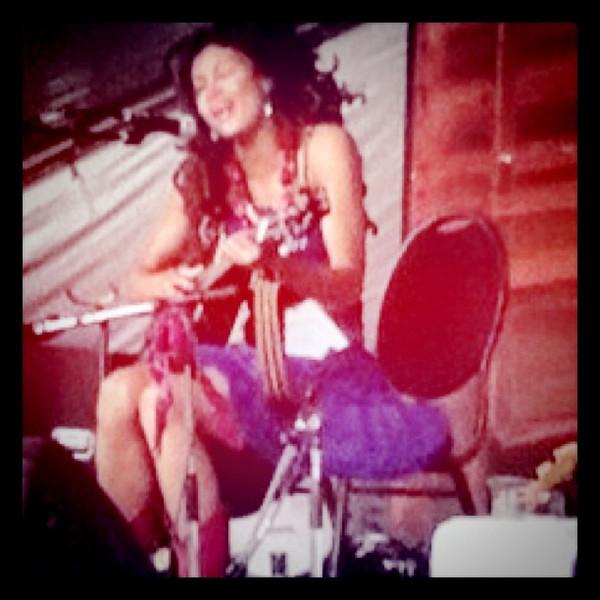 Valerie June on stage at @WinnipegFolk Fest #wff2011 #itsmbtime