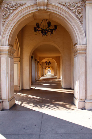 Wonderful architecture at Balboa Park in San Diego.