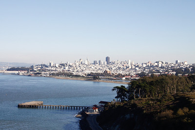 Another view of San Francisco skyline.